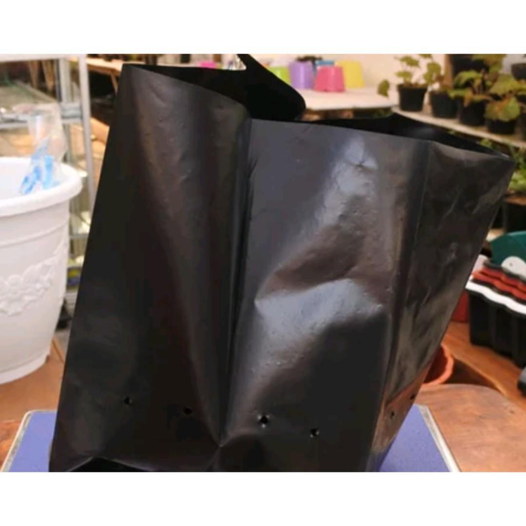 Polybag Plastik Hitam Ukuran 40