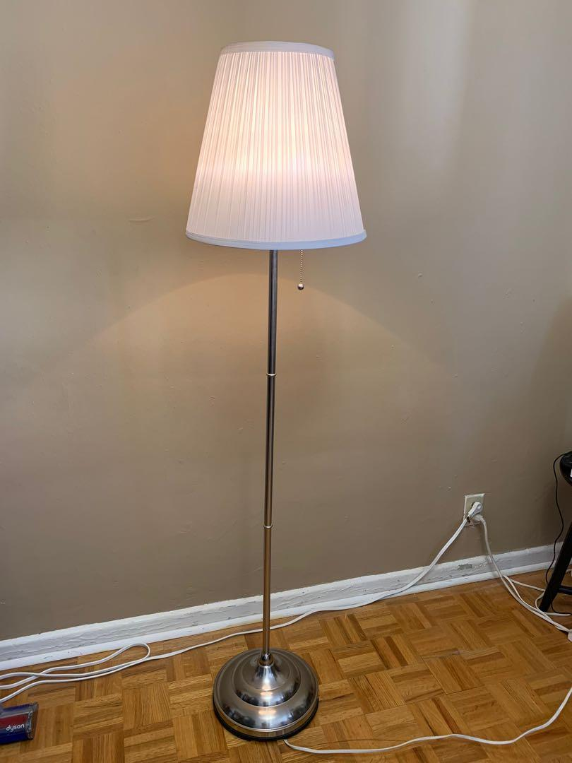 Set of 1 floor lamp and 2 table lamps