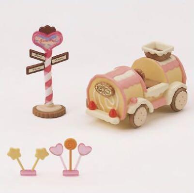 Sylvanian Families Cake Car