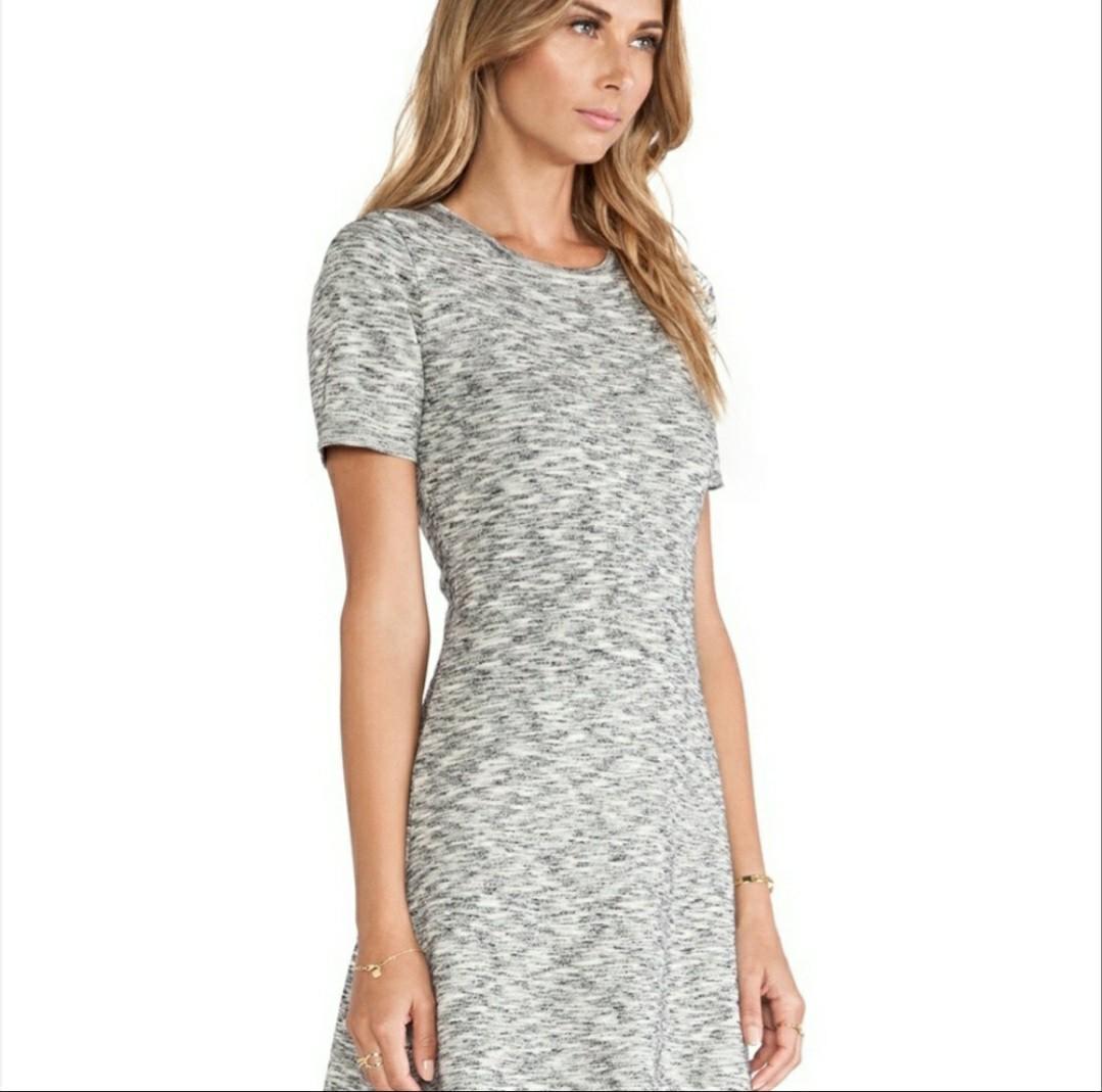 Theory Marled Wool Dress