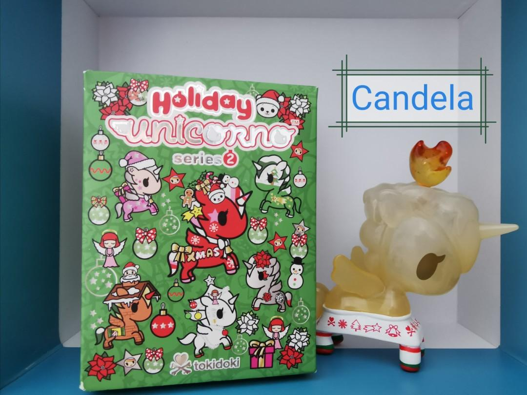 Candela Tokidoki Holiday Unicorno Series 2 Vinyl Figure