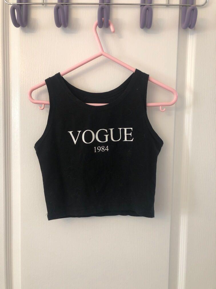 Vogue crop (fits size xs)