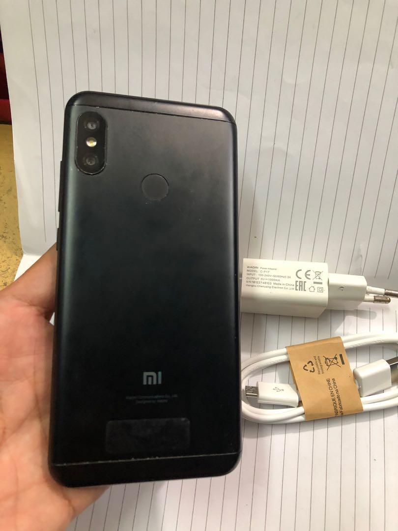 Xiaomi Redmi 6 Pro mulus 90% black ram 4/64
