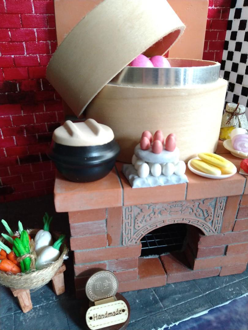 袖珍款 古早灶咖 可以真的煮咖啡 煮開水等或者當造型擺設