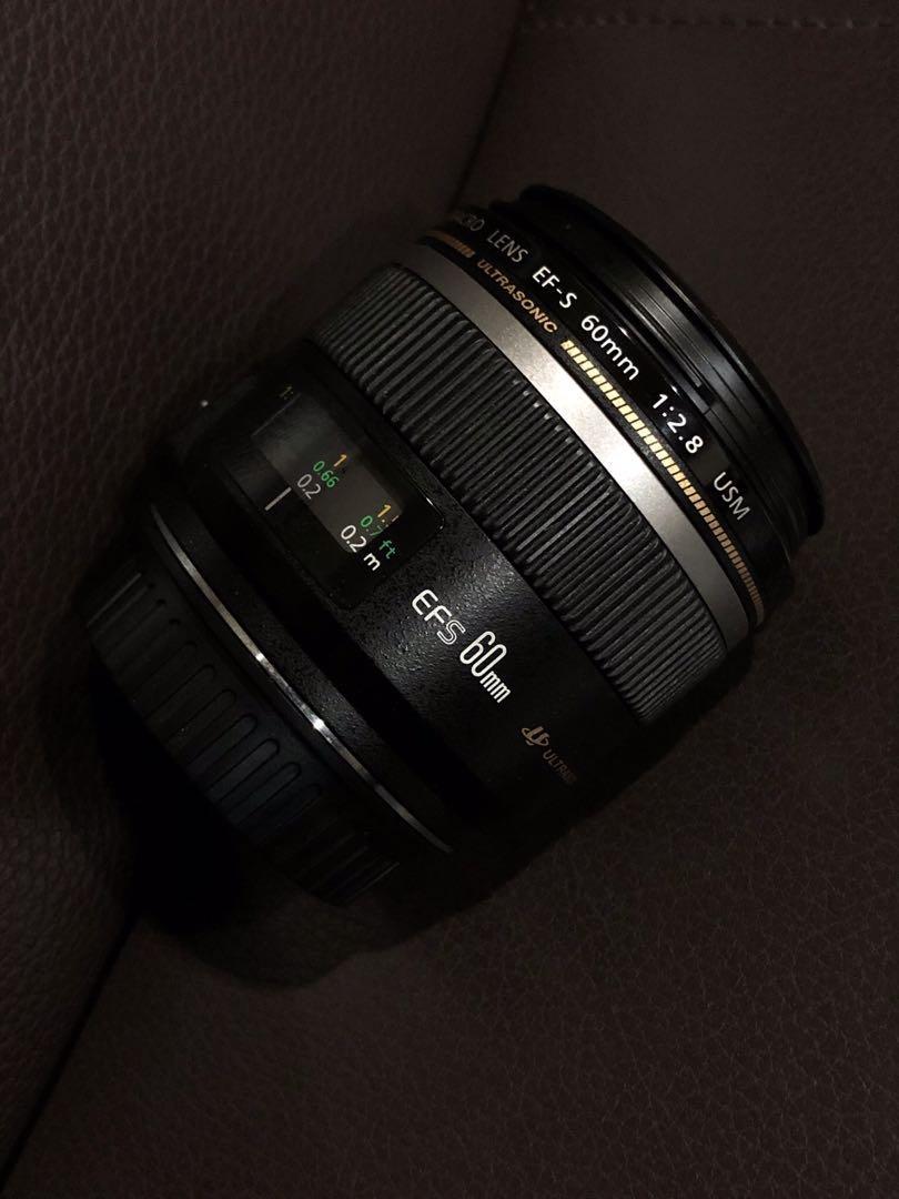 限時特賣 Canon EFS 60mm f2.8 macro 微距鏡