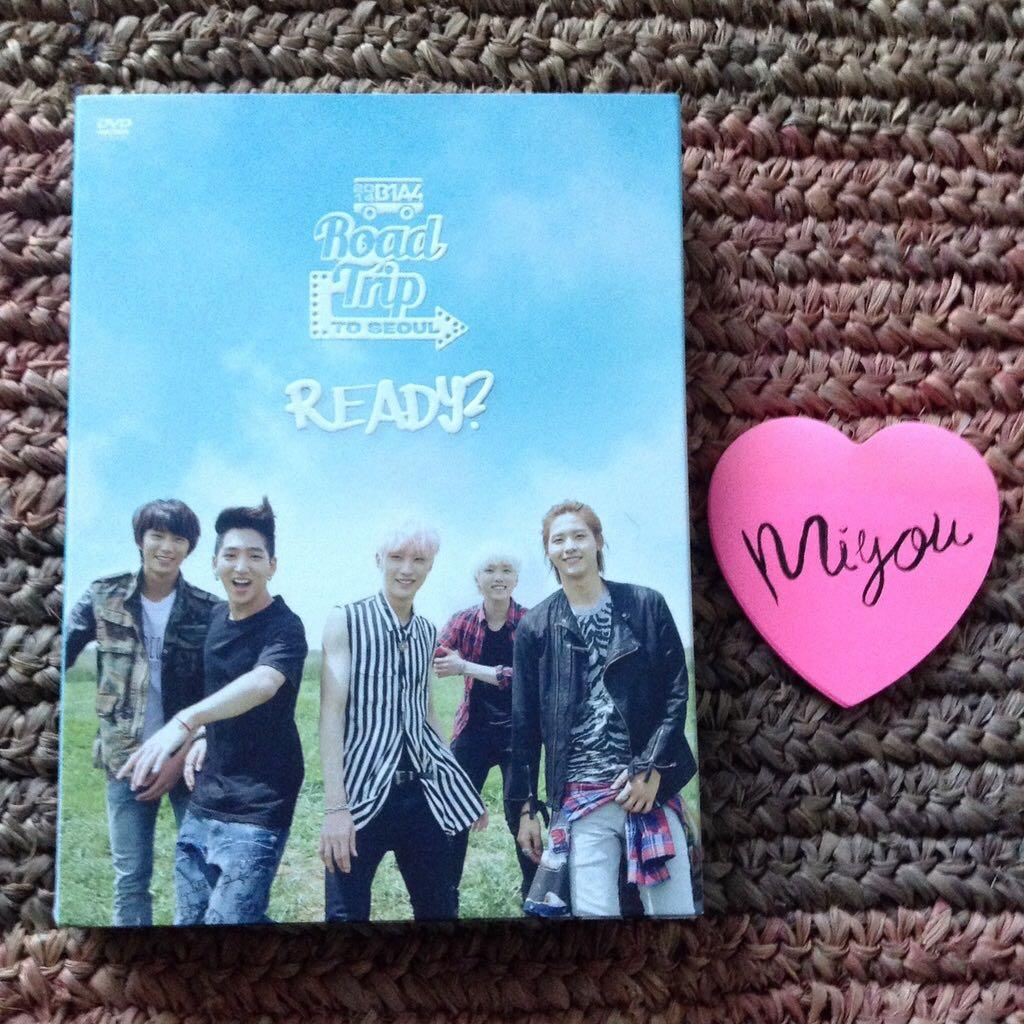 "B1A4 - 2014 Concert ""ROAD TRIP TO SEOUL"" Live DVD"