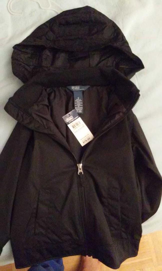 Boys Polo Black spring jacket