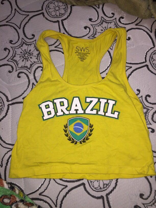 Brasil crop top