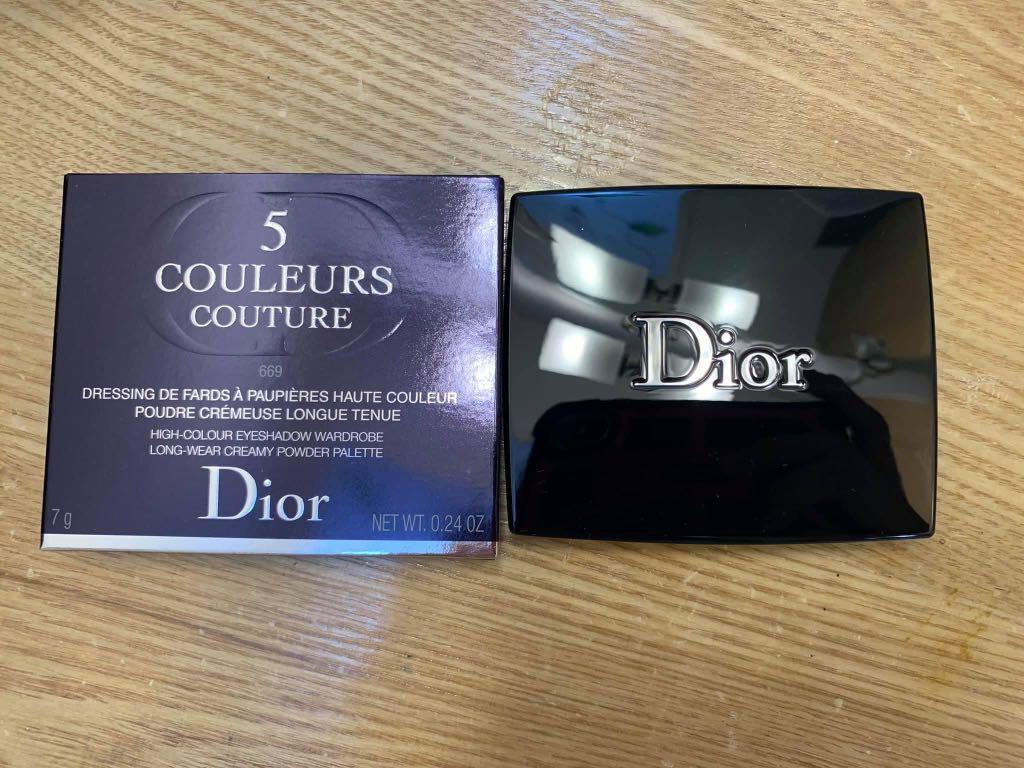 【現貨秒寄】Dior 2020經典五色眼影 SOFT CASHMERES #669