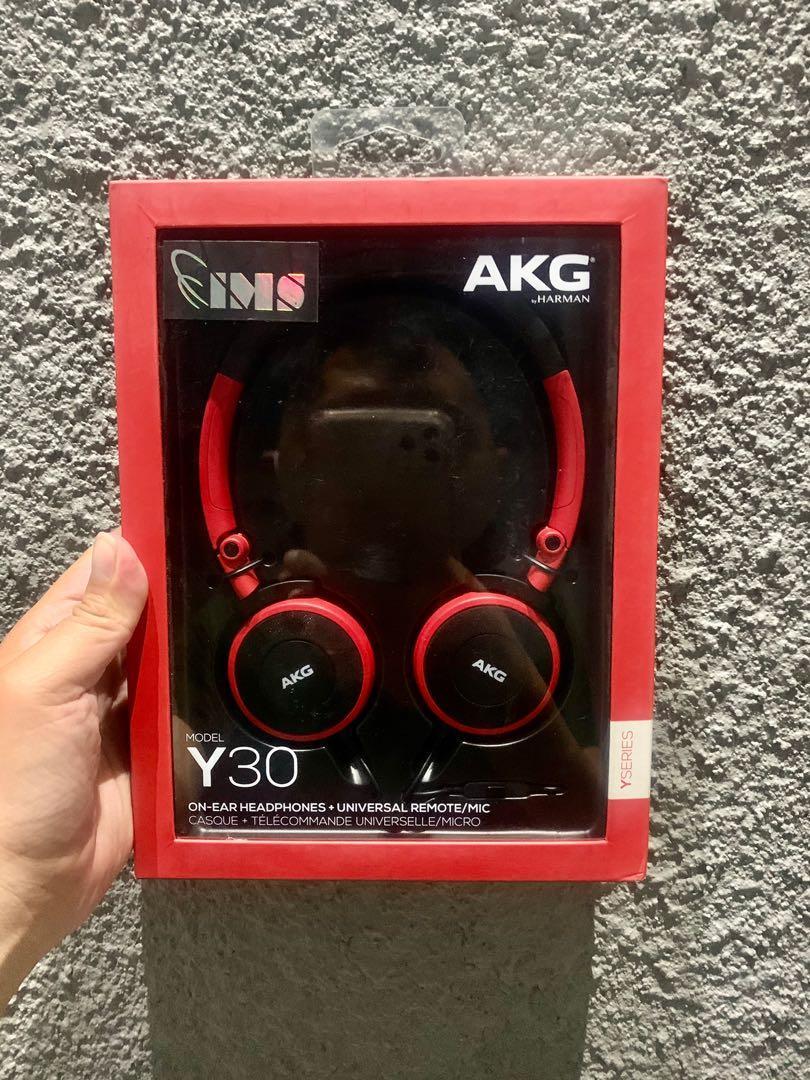 Headphone AKG Y30 Original Garansi 1 Tahun