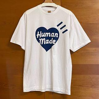Human Made t-shirt 藍愛心 短踢 (XL)