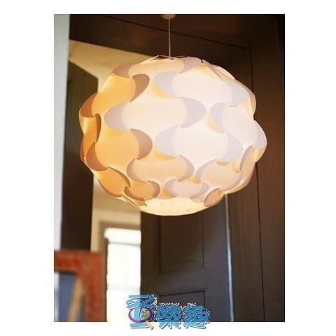 絕版IKEA FILLSTA吊燈-白色47cm