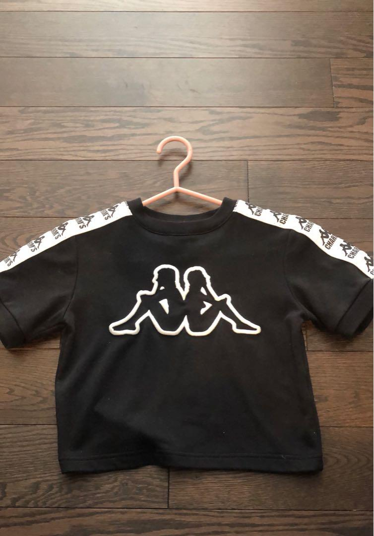 Kappa X Charm's crop top