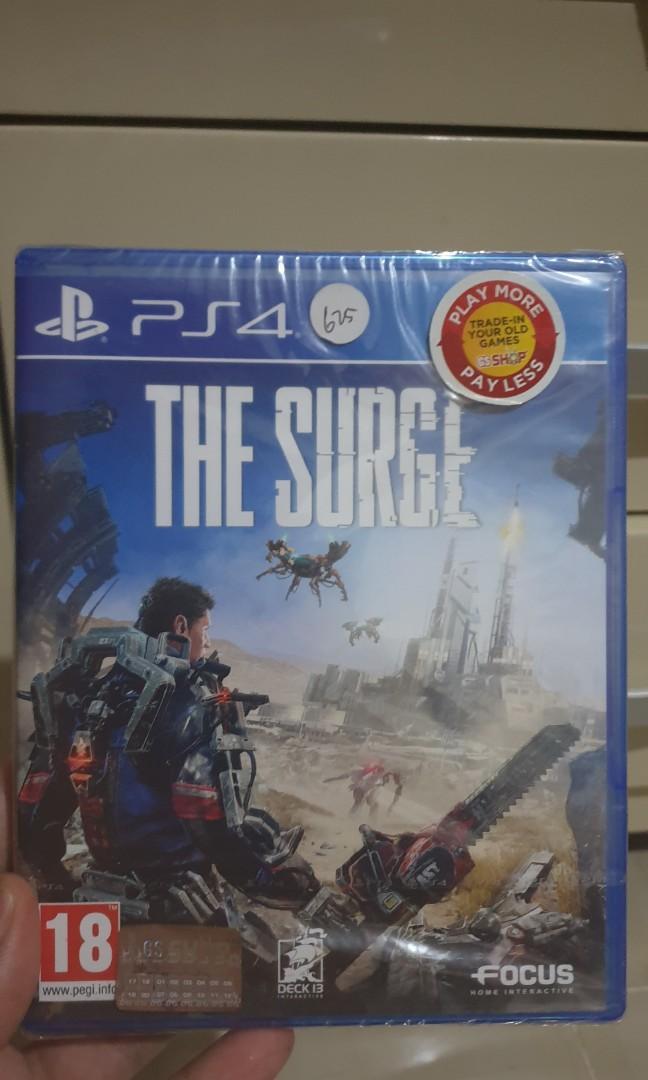 Kaset PS4 the surge bnib masih segel
