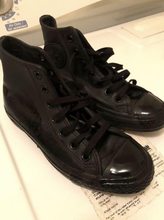LEATHER CONVERSES