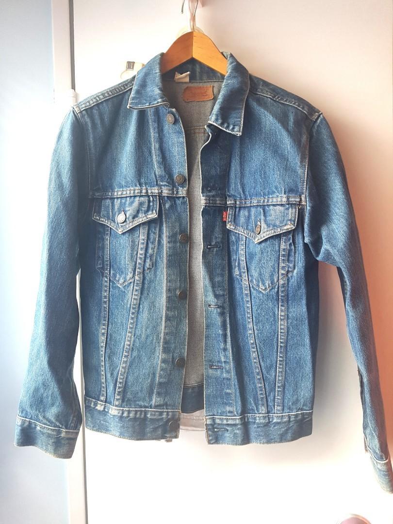 Levi's Denim jean jacket Unisex vintage trucker