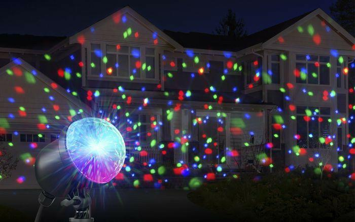 LIGHT UP YOUR HOUSE WITH ION AUDIO INSTA PROJECTOR LIGHTS THIS CHRISTMAS