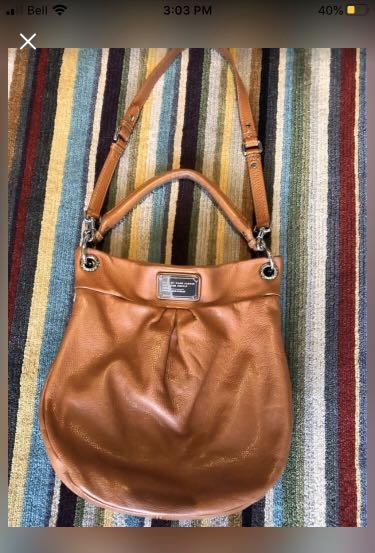 Marc by Marc Jacob Hobo leather bag