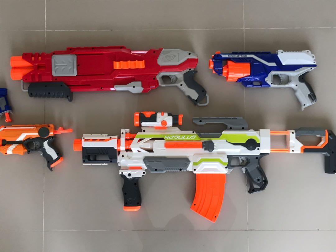 Nerf Gun Nerf Mainan Anak Original