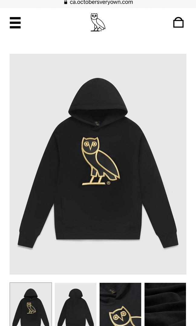 OVO OG Owl Hoodie in Size Small