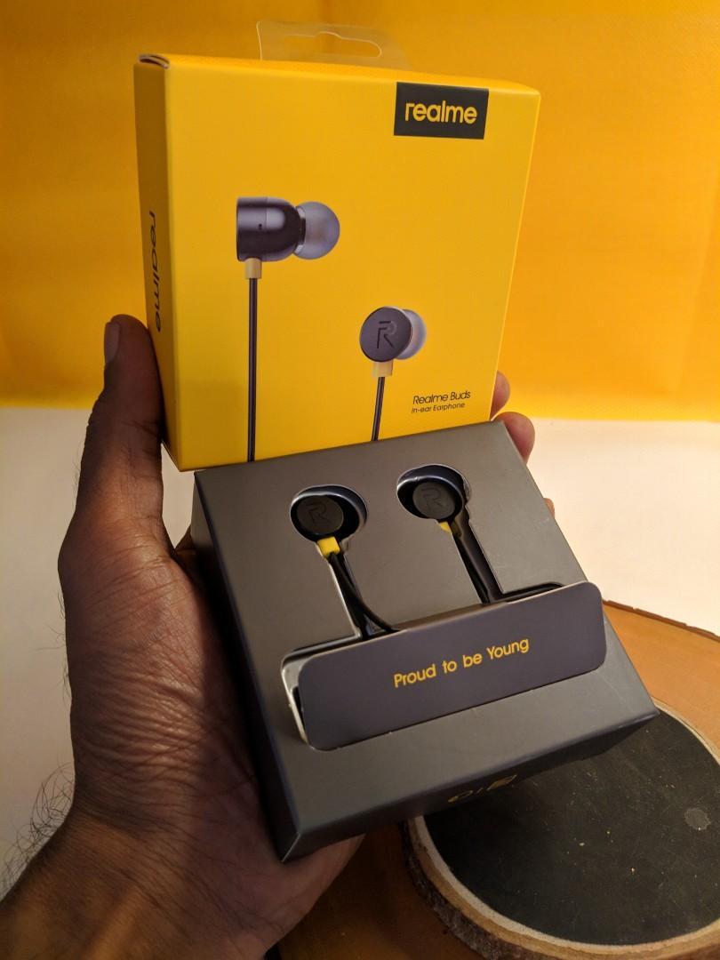 Realme buds headset headphone original