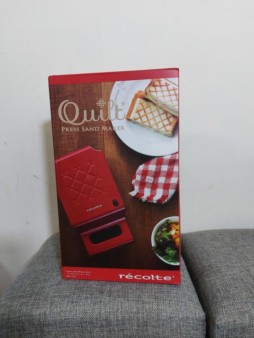 優惠,日本recolte三明治機