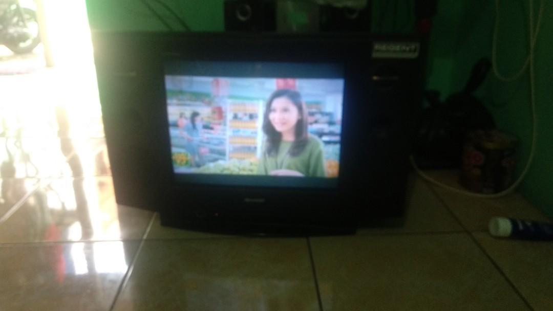 "TV Tabung Sharp Alexander Slim 21"" NEGO"