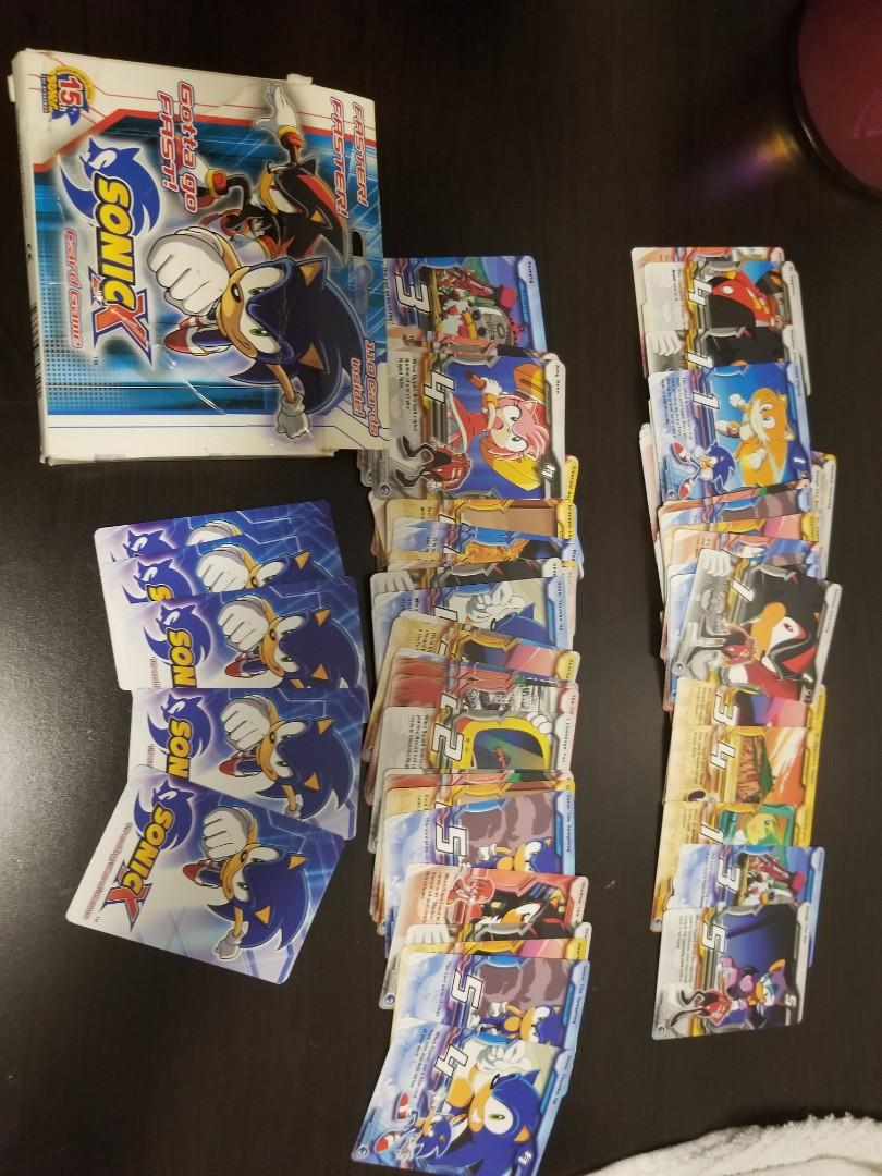 Sonic X Playing Cards