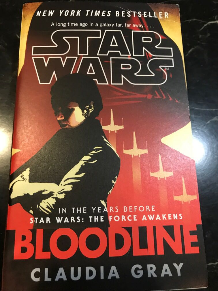Star Wars Bloodline By Claudia Gray Books Stationery Fiction On Carousell