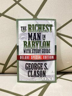 BRANDNEW The Richest Man in Babylon PAPERBACK  George Clason deluxe special edition
