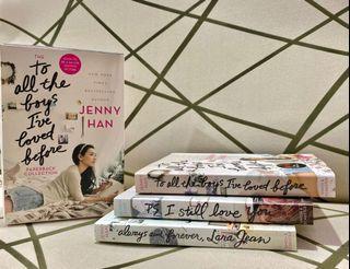 BRANDNEW To All the Boys I've Loved Before BOX SET Jenny Han