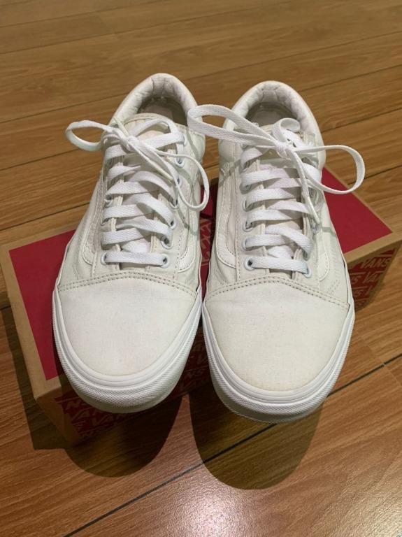 Vans Old Skool True White US 10 (repriced), Men's Fashion ...