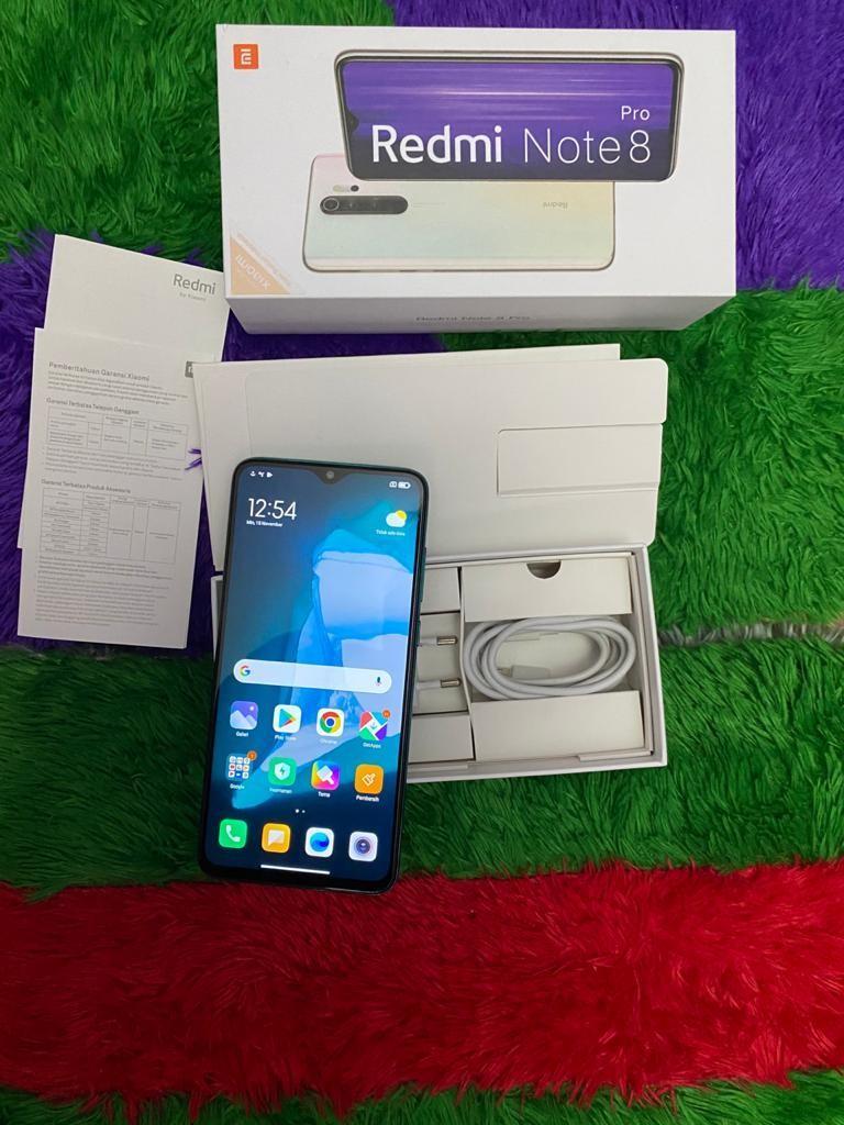 Xiaomi Redmi Note 8 6/64GB Fullset NFC Mulus Banget