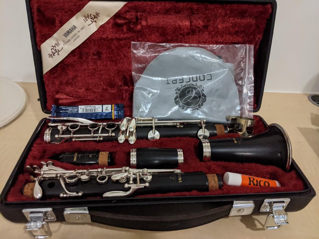 YAMAHA YCL-451 黑檀木豎笛(單簧管)(請看影片連結)