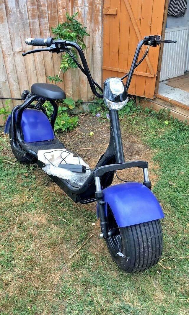 1500W 60v 20ah  Citycoco e-scooter