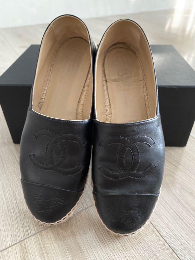 香奈兒 羊皮鉛筆鞋