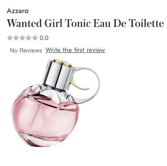 Azzaro Wanted Girl Tonic Eau De Toilette 50ML