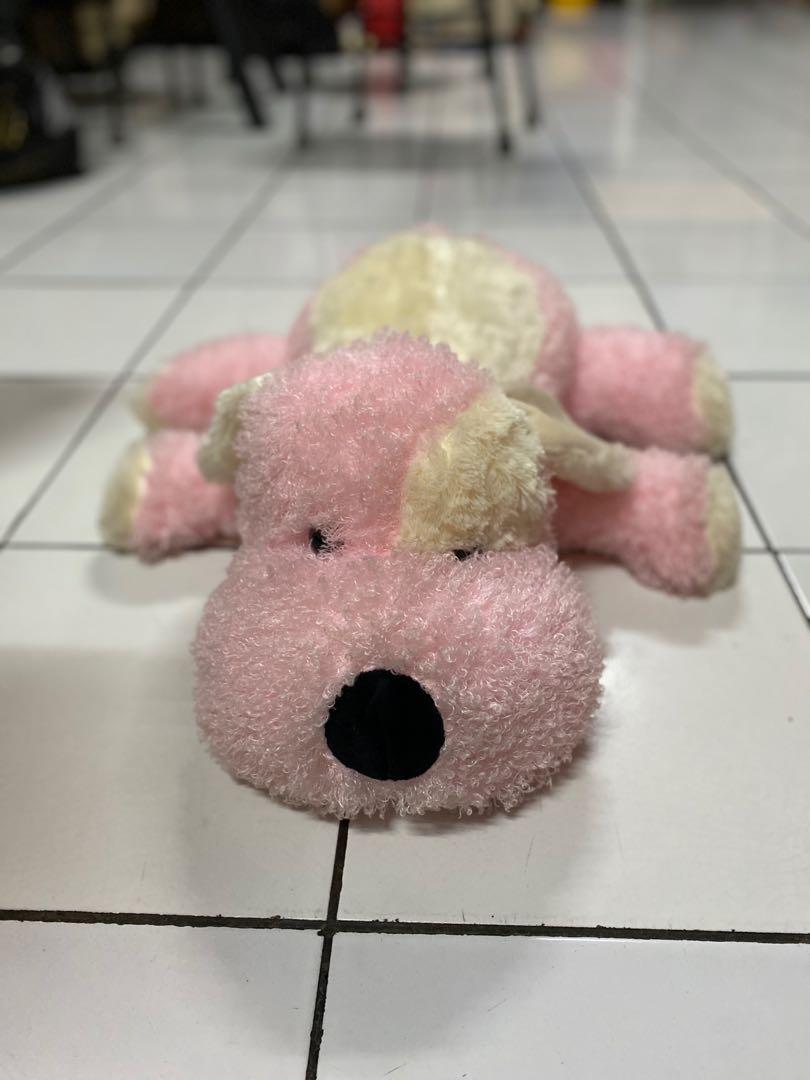 Boneka Doggy / Boneka Anjing Pink