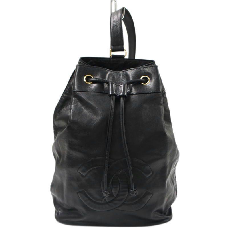 [保證真品]Chanel 香奈兒古董後背包肩背包