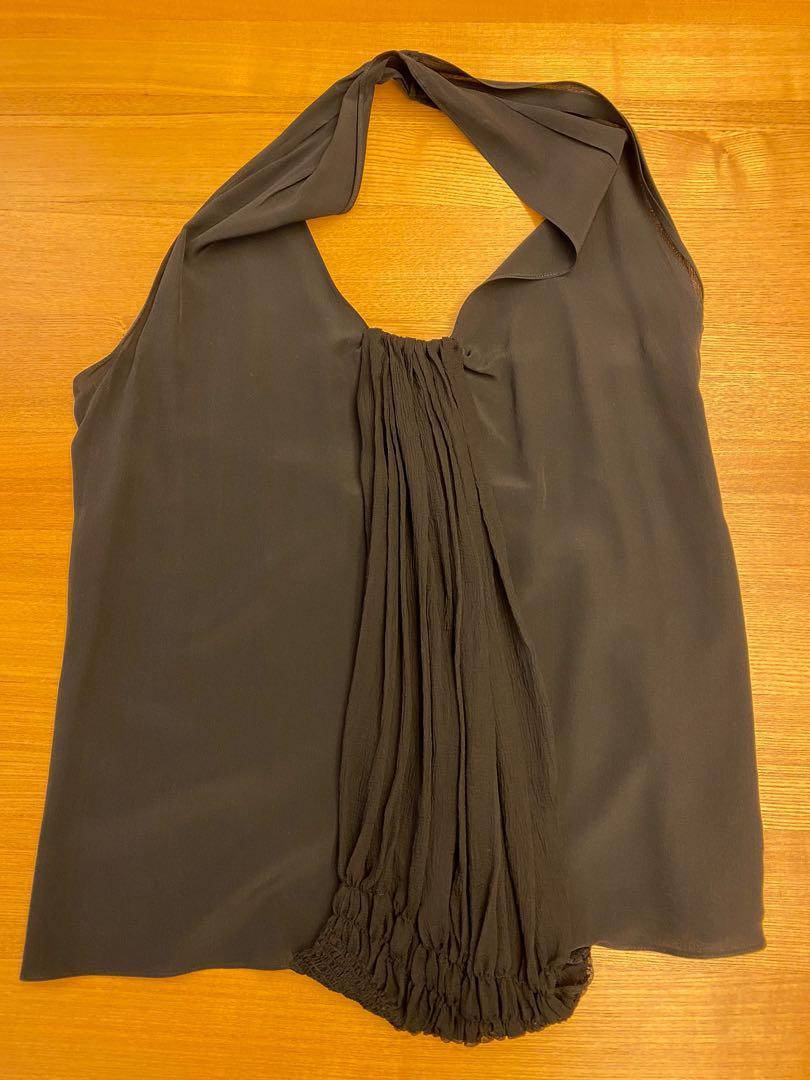 🛍1月底前限時特價🛍 Christian Dior 黑色細紗上衣