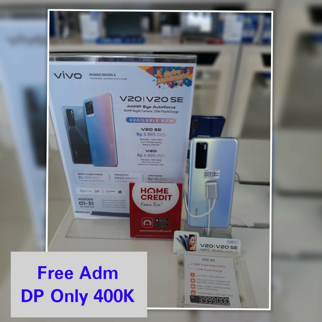 Cicilan VIVO V20 SE FREE ADM DP ONLY 400K