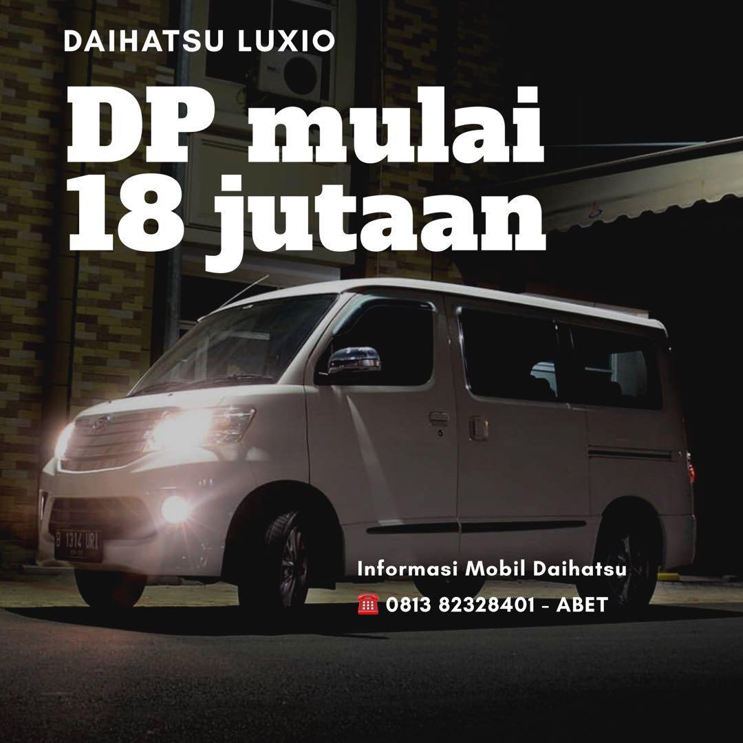 DP MURAH Daihatsu Luxio mulai 18 jutaan. Daihatsu Fatmawati