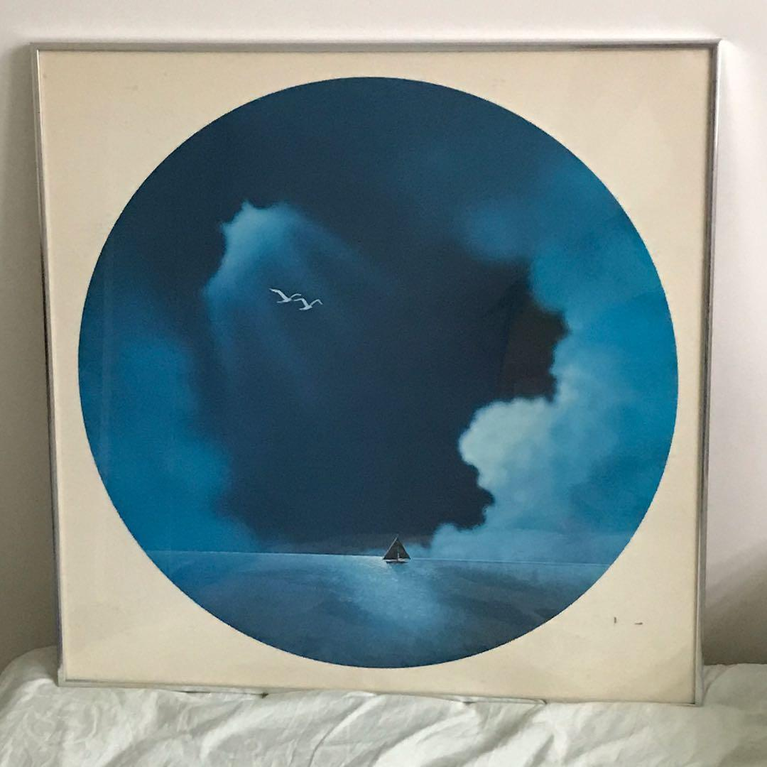 """EUC framed picture / print (24.25"""" x 24.25"""")"""