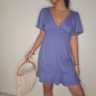 Frilly summer dress