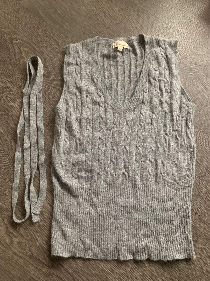 Grey Sweater Vest size small