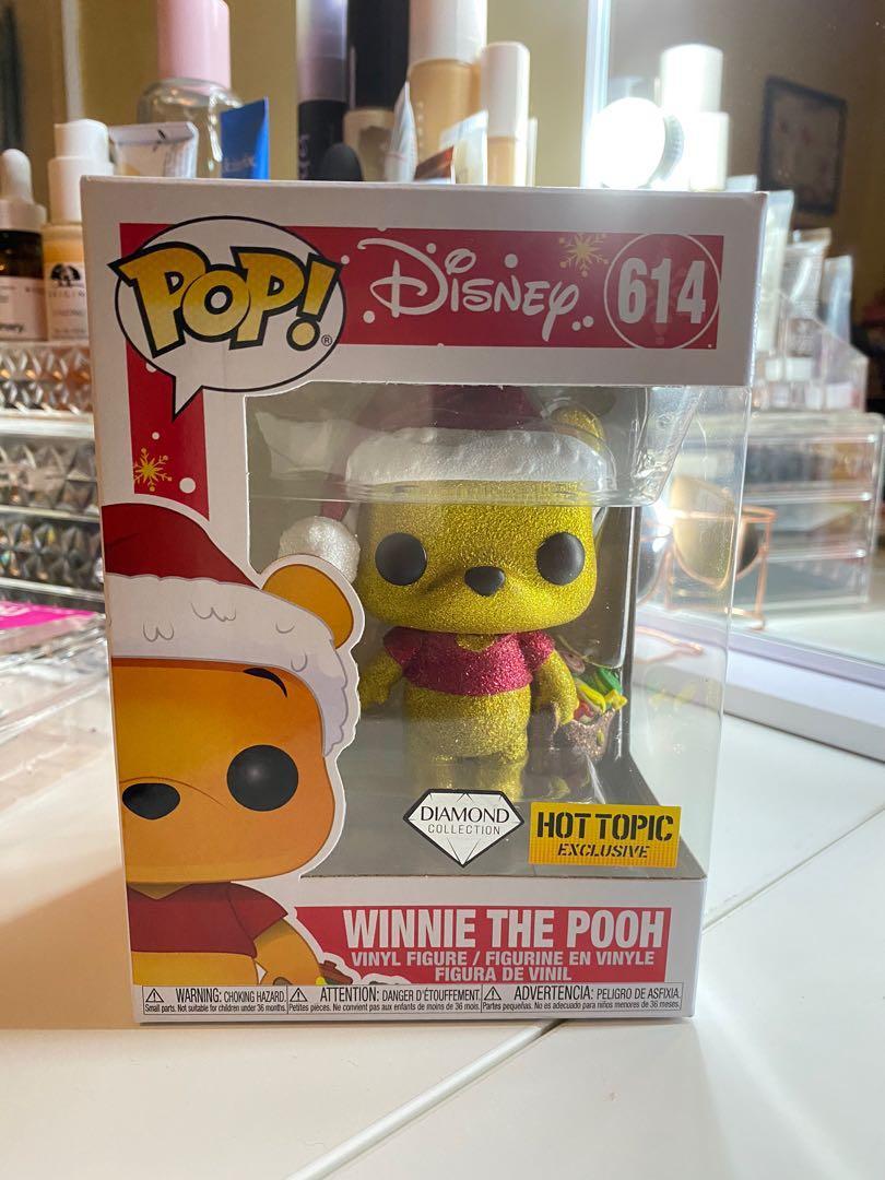 Holiday Winnie the Pooh Diamond (Hot Topic Exclusive) Funko Pop