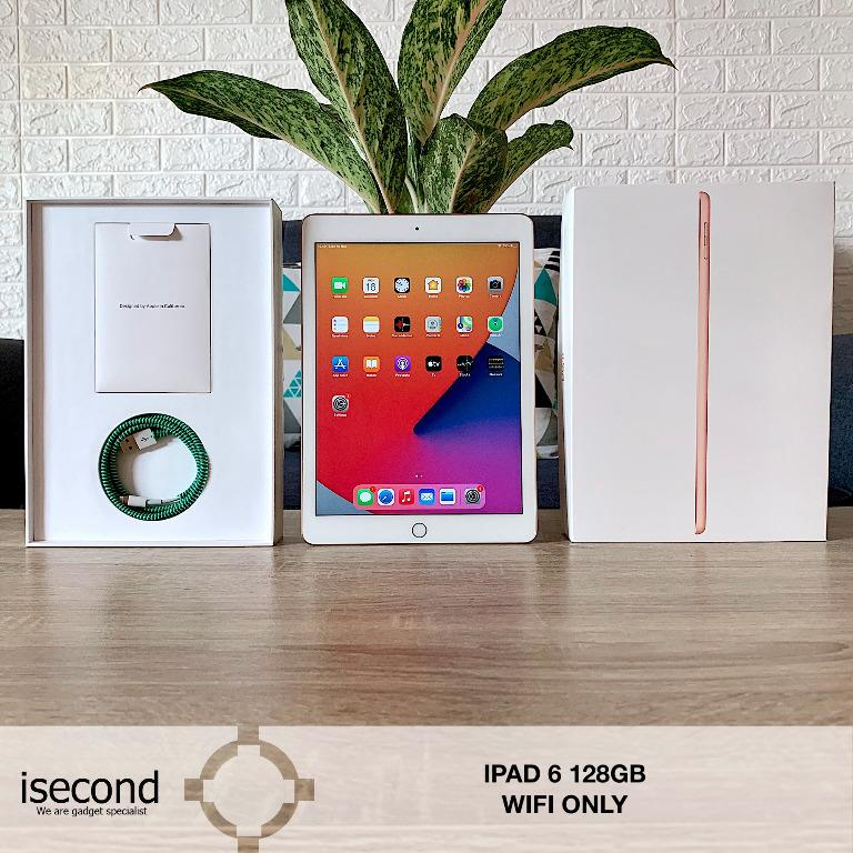 Ipad 6 128GB 2018 Wifi Only second mulus