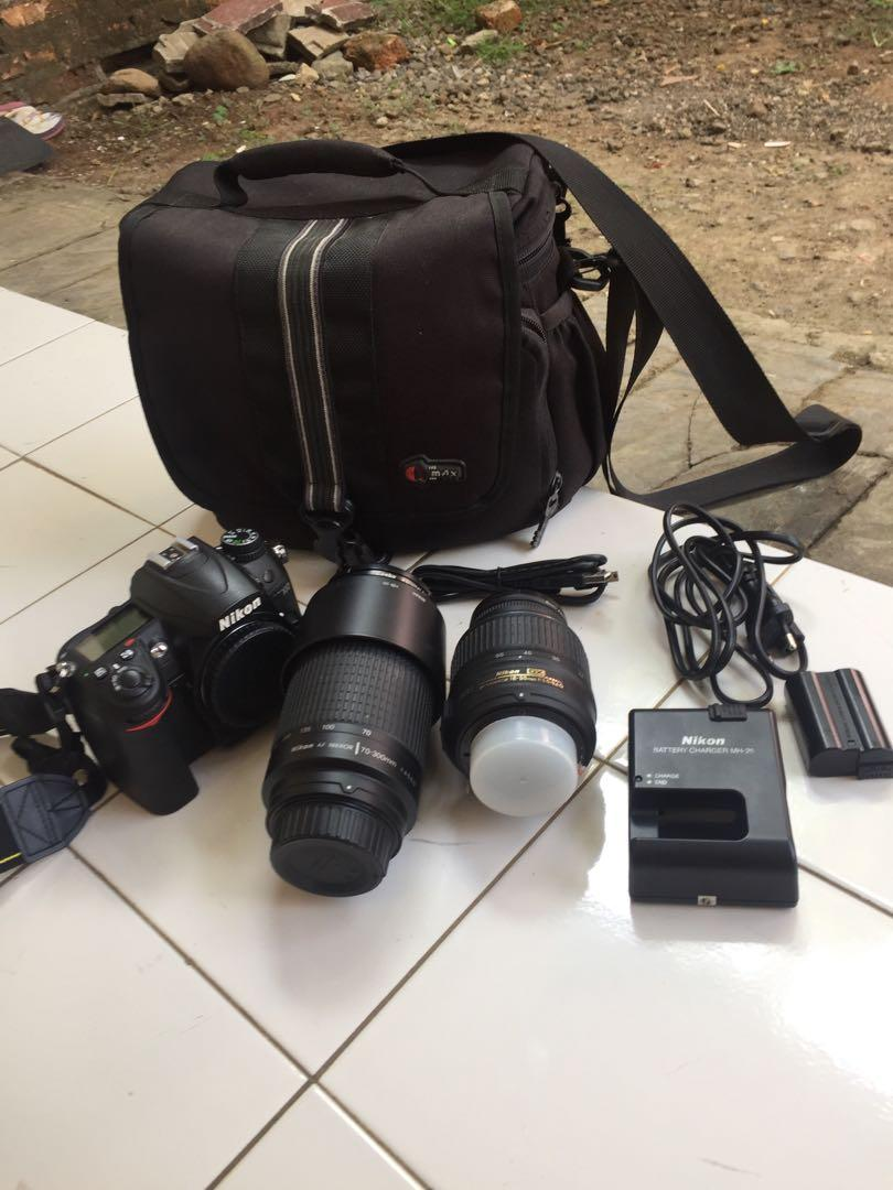 Kamera DSLR Nikon D7000 2nd kondisi 95% pemakaian pribadi