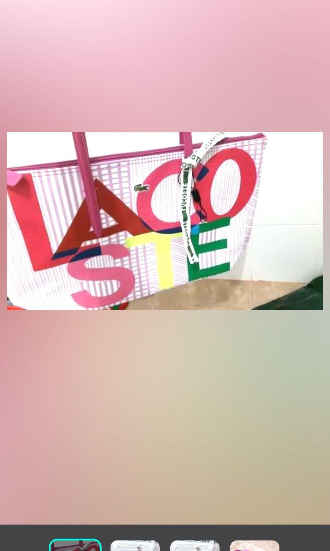 Lacoste original counter