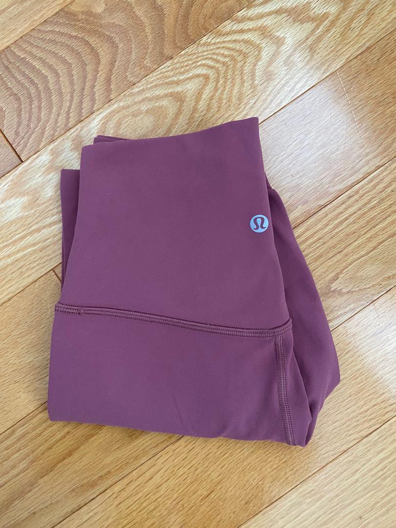 Lululemon Align Leggings - Colour: So Merlot, Size 4